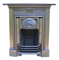 Fully Polished Victorian Combination fireplace