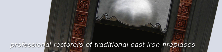 professional restorers of traditional cast iron fireplaces